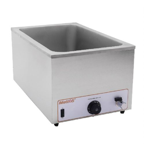 Bain Marie Wet Heat Depth 250mm With Drain Tap - BM-205T